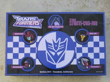 transformers BotCon 2011 Box Set BotCon Exclusive