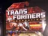 Transformers Warpath Classics series