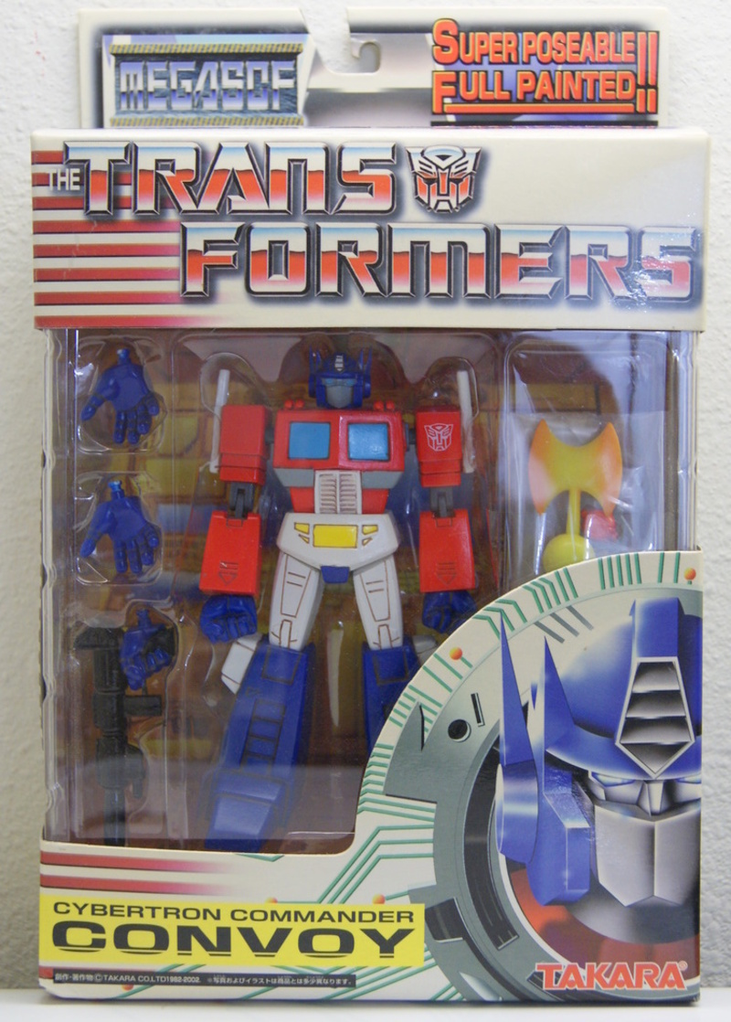 Transformers Convoy w/ Matrix Miscellaneous (Takara)