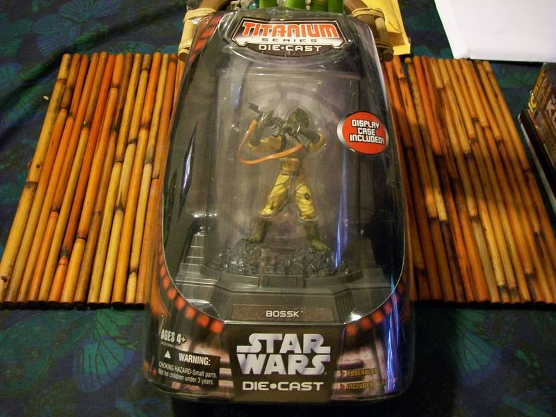 Star Wars Bossk Titanium Series