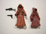 Star Wars Jawas with Glowing Eyes and Blaster Pistols Power of the Force (POTF2) (1995)