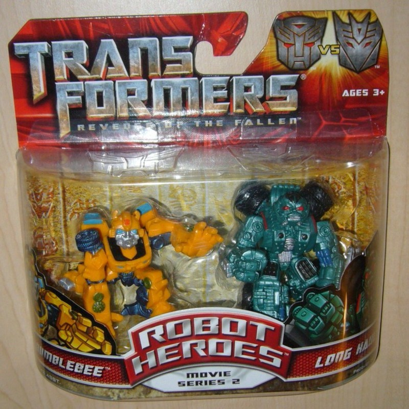Transformers Bumblebee vs. Long Haul Transformers Movie Universe
