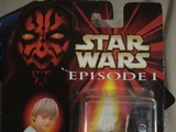 Star Wars Anakin Skywalker with Backpack and Grease Gun Episode I - The Phantom Menace thumbnail 0