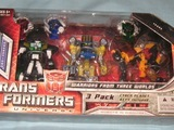 Transformers Warriors From Three Worlds Classics Series