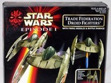 Star Wars Trade Federation Droid Fighters Episode I - The Phantom Menace