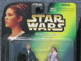 Star Wars Princess Leia and Han Solo Power of the Force (POTF2) (1995)
