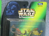 Star Wars Max Rebo Band Pairs - Joh Yowza - Sy Snootles Power of the Force (POTF2) (1995)