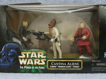 Star Wars Cantina Aliens Power of the Force (POTF2) (1995)