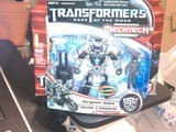 Transformers Tailpipe w/ Sergeant Noble Transformers Movie Universe