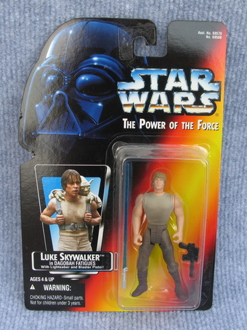 Star Wars Luke Skywalker in Dagobah Fatigues Power of the Force (POTF2) (1995)