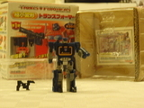 Transformers GTF-05: Soundwave w/ Jaguar Miscellaneous (Takara) thumbnail 4