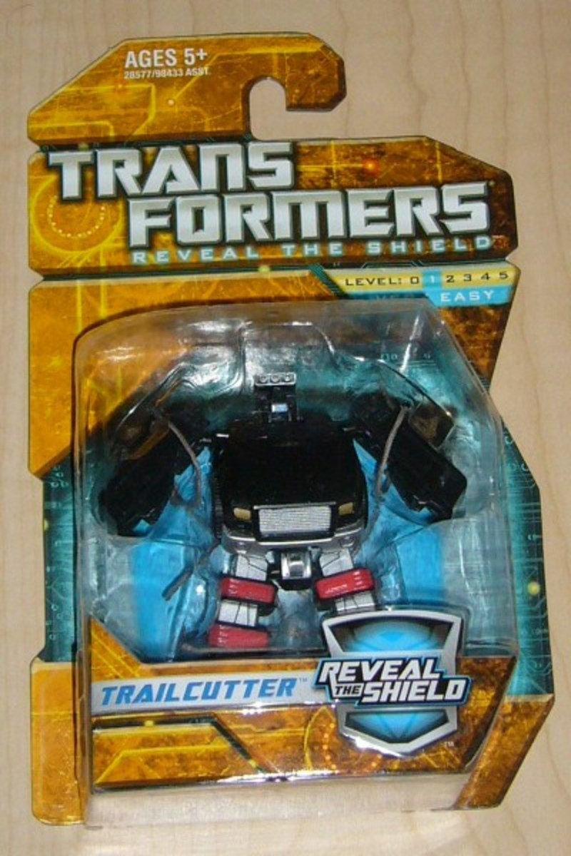Transformers Trailcutter Classics Series