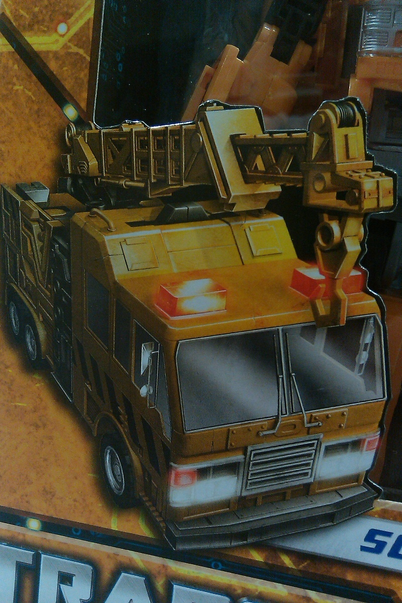 Transformers Solar Storm Grappel Classics Series