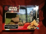 Star Wars Armored Scout Tank with Battle Droid Episode I - The Phantom Menace