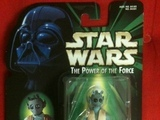 Star Wars Greedo with Commtech Chip Power of the Force (POTF2) (1995)