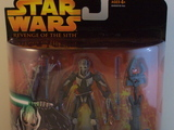 Star Wars General Grievous - Secret Lightsaber Attack Episode III - Revenge of the Sith