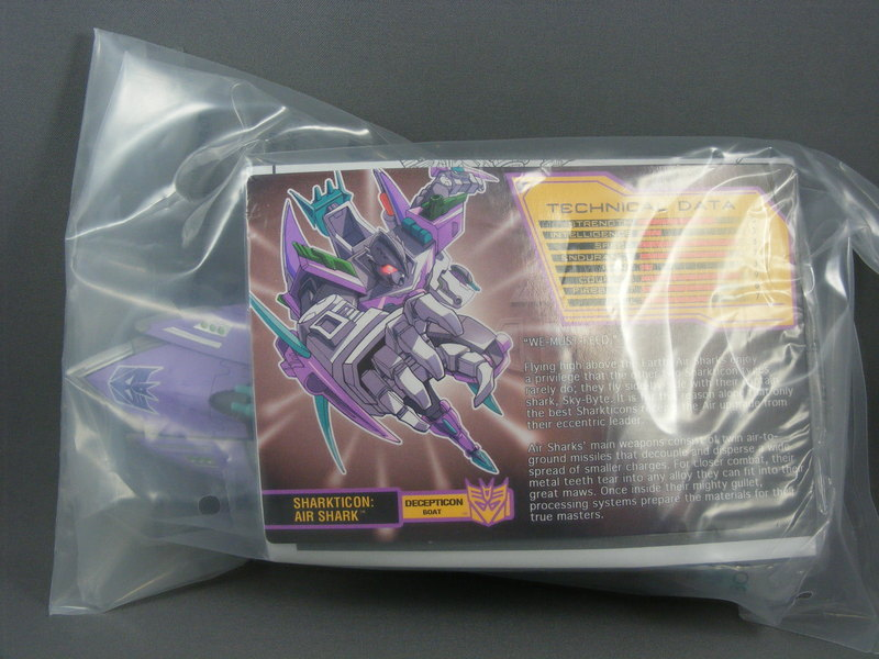 Transformers Air Sharkticon BotCon Exclusive