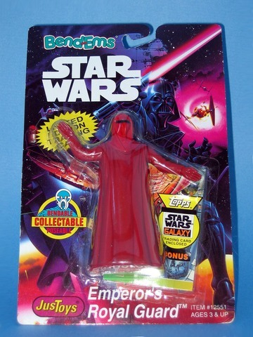 Star Wars Emperor's Royal Guard Bend-Ems