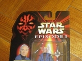 Star Wars Chancellor Valorum with Ceremonial Staff Episode I - The Phantom Menace