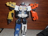 Transformers Optimus Prime Unicron Trilogy