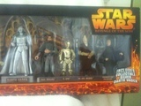Star Wars Collector 9-Pack with Silver Darth Vader Episode III - Revenge of the Sith