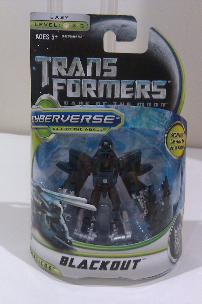 Transformers Blackout Transformers Movie Universe