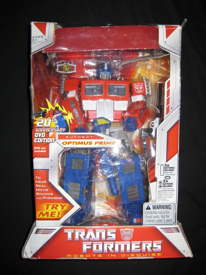 Transformers 20th Anniversary DVD Edition Optimus Prime Generation 1 (Takara)