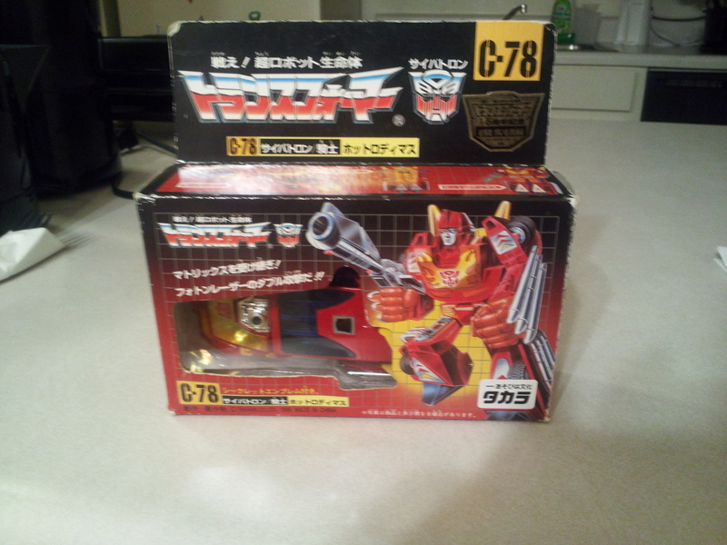 Transformers C-078: Hot Rodimus Generation 1 (Takara)