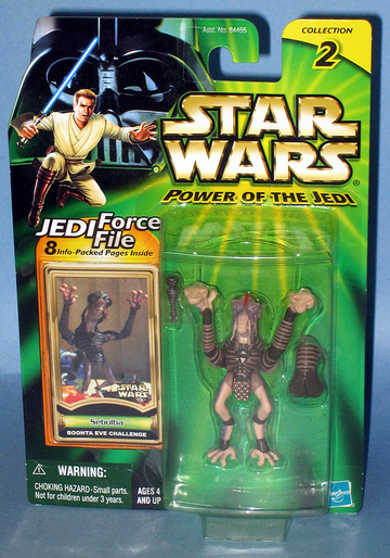 Star Wars Sebulba - Boonta Eve Challenge Power of the Jedi (POTJ)
