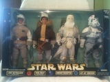 Star Wars Luke Skywalker - Han Solo - Snowtrooper - AT-AT Driver Action Collection