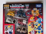 Transformers 10: Bumble &amp; Minibots (Wave, Outback, Tailgate &amp; Pipes) Miscellaneous (Takara)