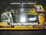 Transformers Jazz & Captain Lennox Transformers Movie Universe thumbnail 18