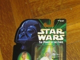 Star Wars Luke Skywalker with T-16 Skyhopper Model Power of the Force (POTF2) (1995)