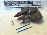 Transformers Obi-Wan Kenobi - Jedi Starfighter Star Wars Transformers