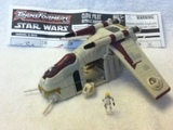 Transformers Clone Pilot - Republic Gunship Star Wars Transformers