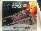 Star Wars Rebel Snowspeeder (Electronic) Power of the Force (POTF2) (1995)