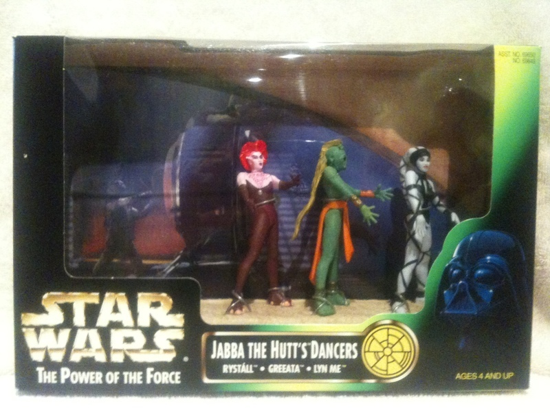 Star Wars Jabba the Hutt's Dancers Power of the Force (POTF2) (1995)