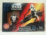 Star Wars Imperial Speeder Bike Power of the Force (POTF2) (1995)