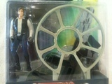 Star Wars Millennium Falcon with Han Solo Power of the Force (POTF2) (1995) thumbnail 1