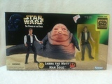 Star Wars Jabba the Hutt and Han Solo Power of the Force (POTF2) (1995)