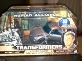 Transformers Jazz &amp; Captain Lennox Transformers Movie Universe thumbnail 26