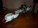 Star Wars BARC Speeder with BARC Trooper - Ripcord Action Episode III - Revenge of the Sith