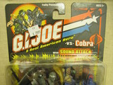 G.I. Joe Snake Eyes vs. Cobra Commander G.I. Joe Vs. Cobra image 0