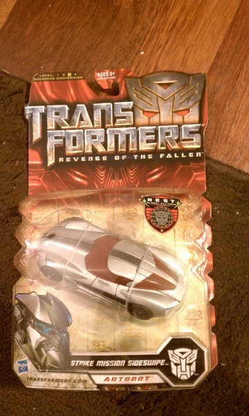 Transformers Strike Mission Sideswipe Transformers Movie Universe
