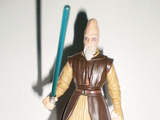 Star Wars Ki-Adi-Mundi with Lightsaber Episode I - The Phantom Menace