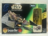 Star Wars Rebel Speeder Bike Pilot Power of the Force (POTF2) (1995)