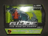G.I. Joe Polar Sharc Submarine with Ice Storm Figure Rise of Cobra image 0