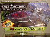 G.I. Joe Night Raven with Air-Viper figure Rise of Cobra 4e6571aa963ea30001000065