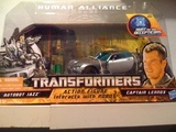 Transformers Jazz & Captain Lennox Transformers Movie Universe thumbnail 27