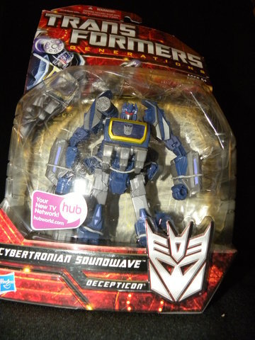 Transformers Cybertronian Soundwave Classics Series